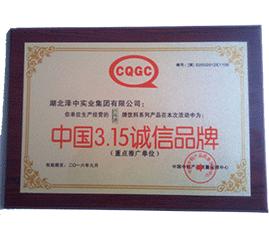 中国诚信品牌